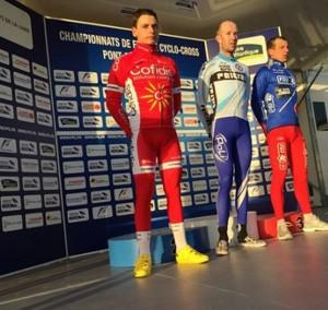 Clément Venturini, vice champion de France de cyclo-cross Elite 2015